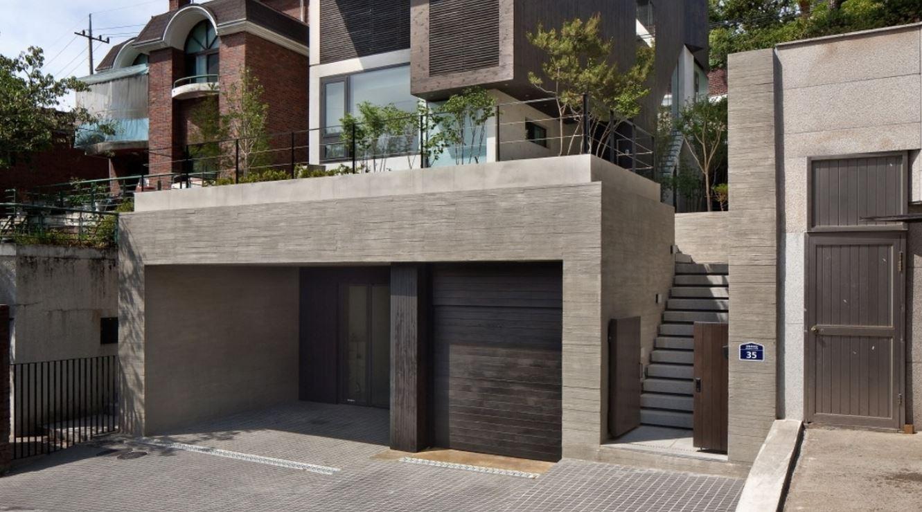 Fachadas de casas modernas - Fachadas con azulejo ...