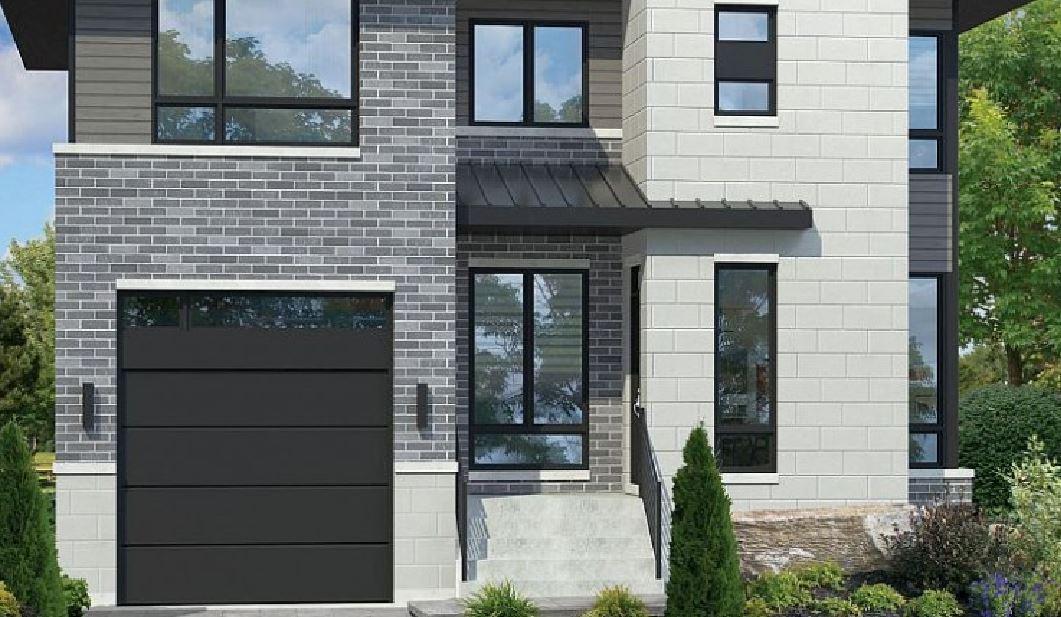 Fachadas de casas for Escaleras entrada casa