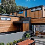 Fachadas con madera