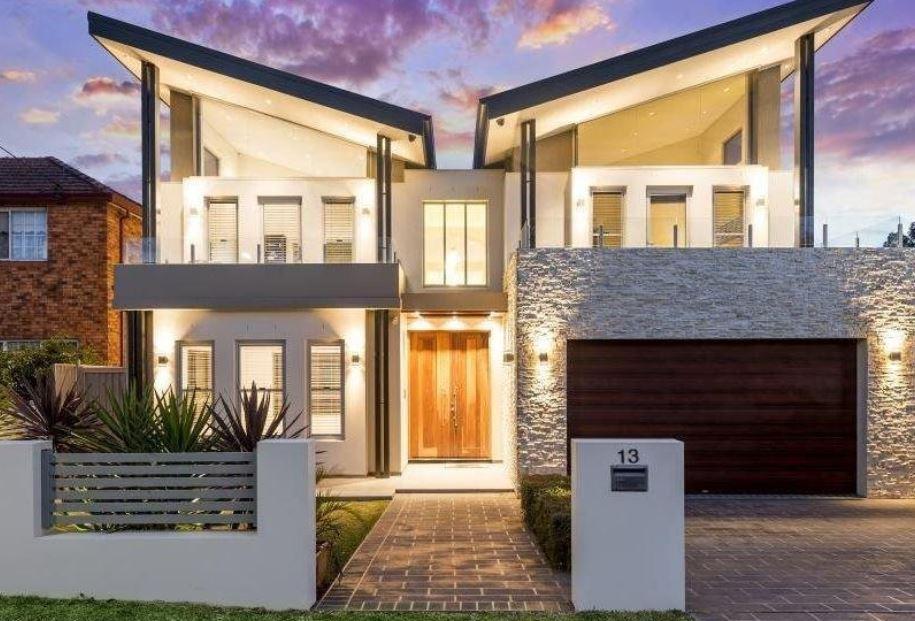 Fachadas de casas de 1 piso for Fachadas pisos modernas