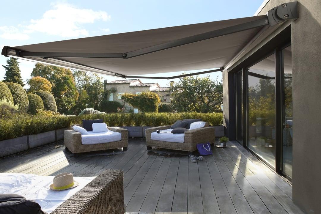 Toldos para patios exteriores free toldos para el sol - Toldos para patios exteriores ...