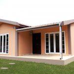 10 Fachadas de casas prefabricadas en fibrocemento