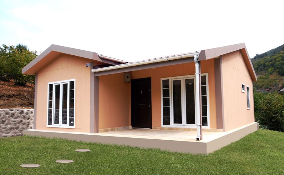 Fachadas de casas prefabricadas - Tipos de casas prefabricadas ...