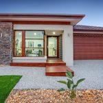 10 Hermosas fachadas de casas de una planta