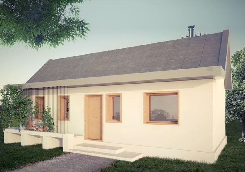Fachadas de casas con techo a dos aguas for Techos de casas en honduras