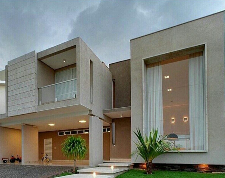 Techados modernos fachadas con techos de chapa modelo for Imagenes de techos de casas modernas