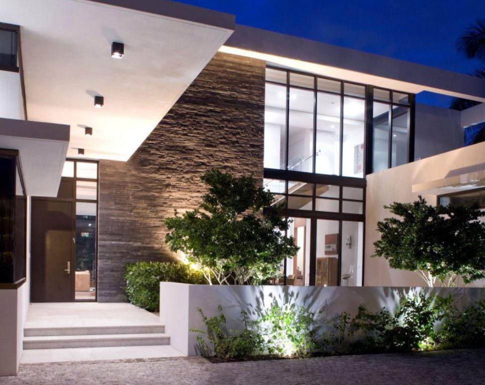 Modern patios - Entradas de casas modernas ...
