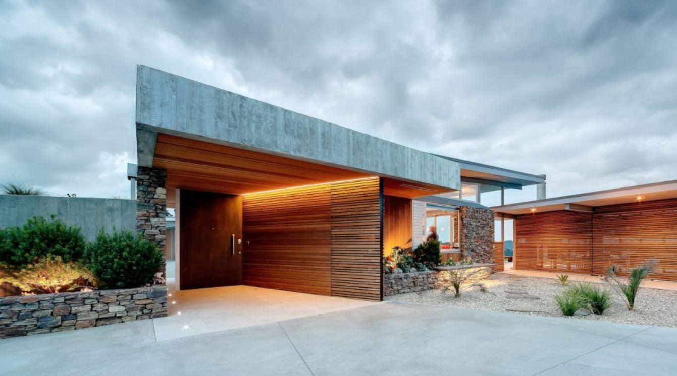 Entradas de casas modernas for Entradas para casas