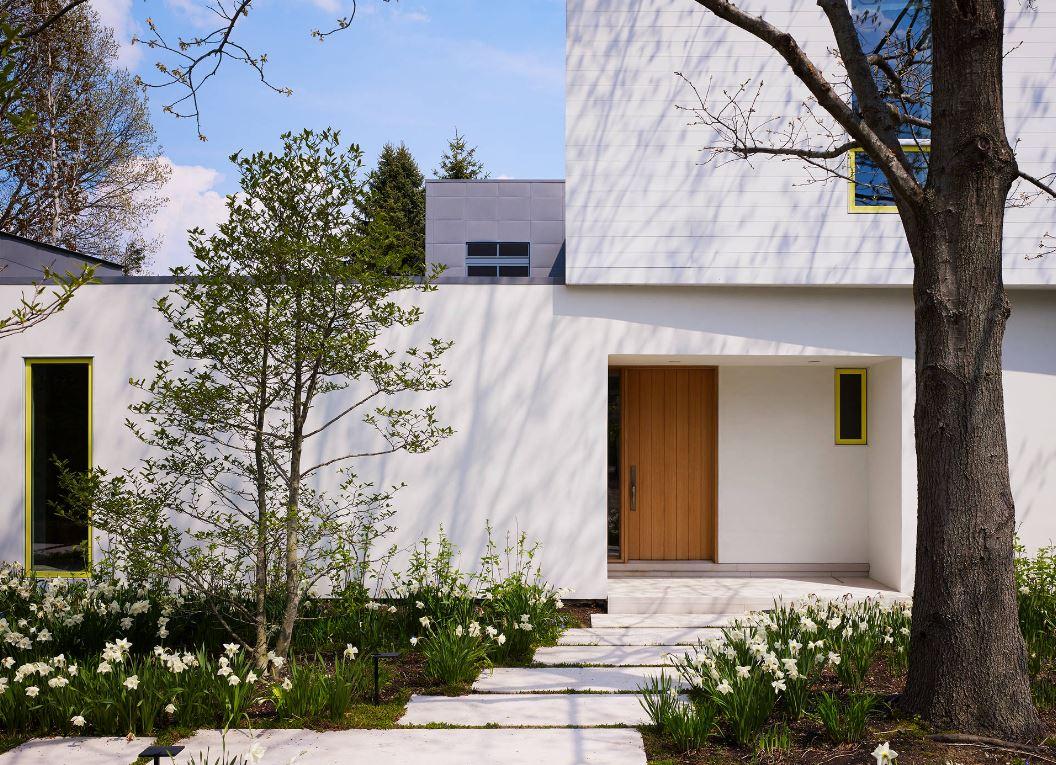 Entradas de casas modernas for Casas modernas recorrido virtual