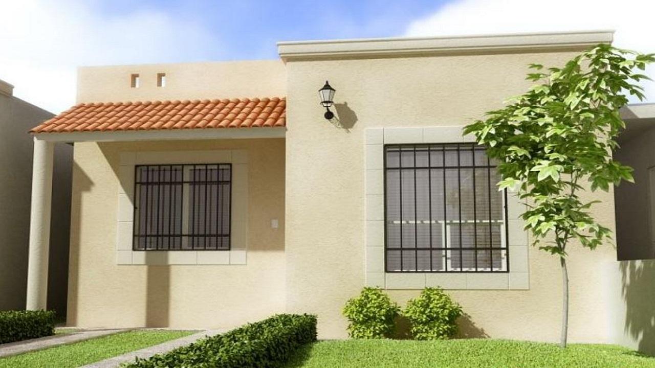 Fachadas de casas de 1 piso for Planos de casas modernas mexicanas