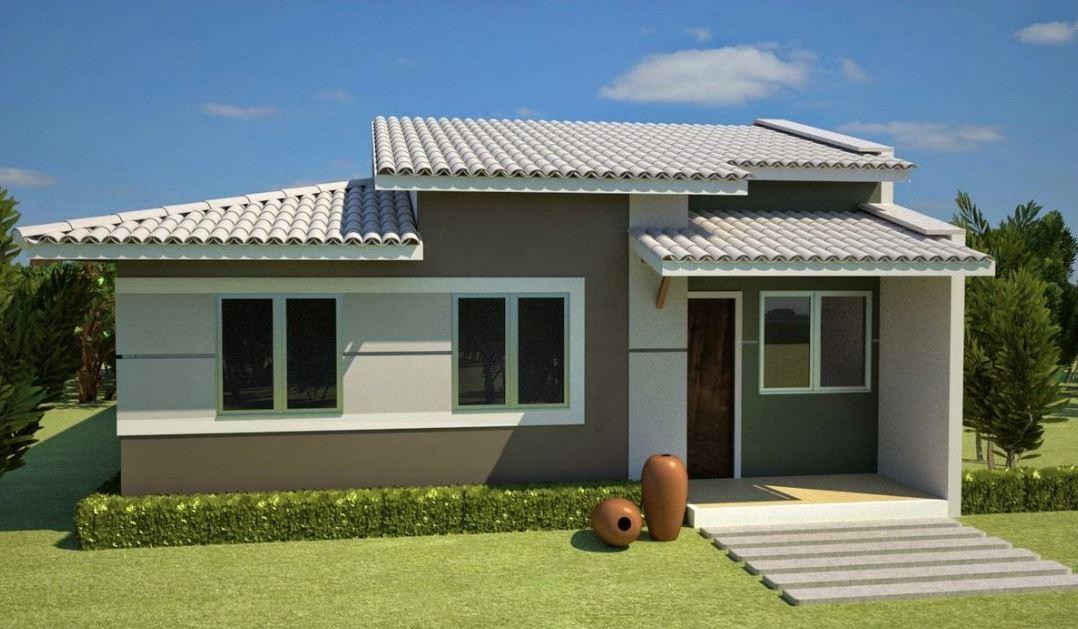 Fachadas de casas de 1 piso - Revestimiento de fachadas economico ...