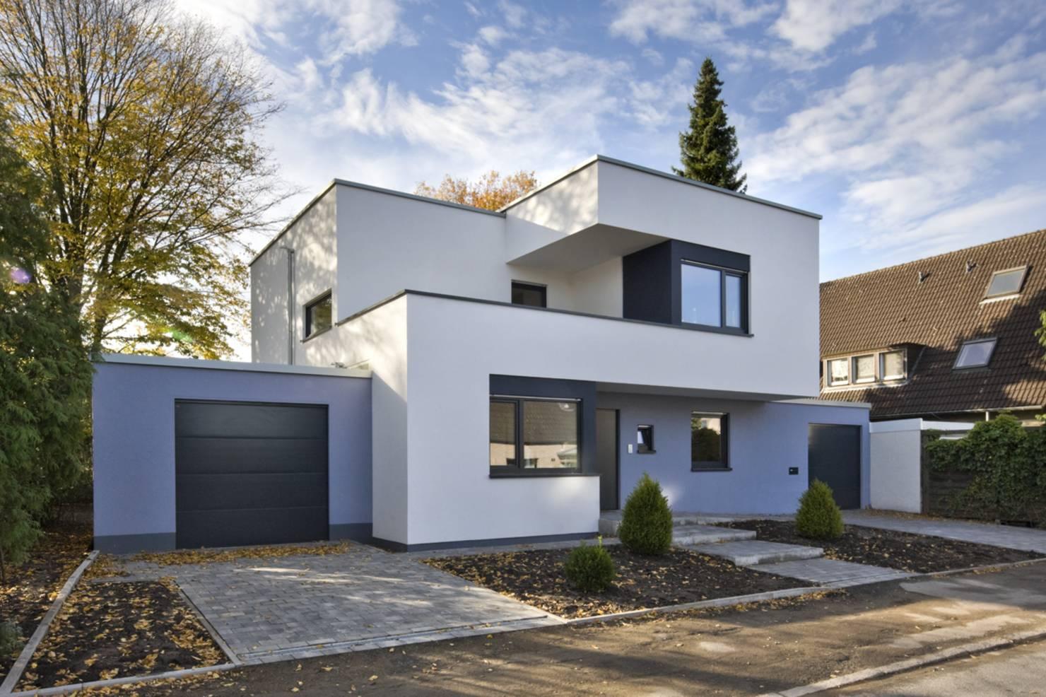 Ver fachadas de casas fachadas de casas estilos de for Casas modernas pintadas