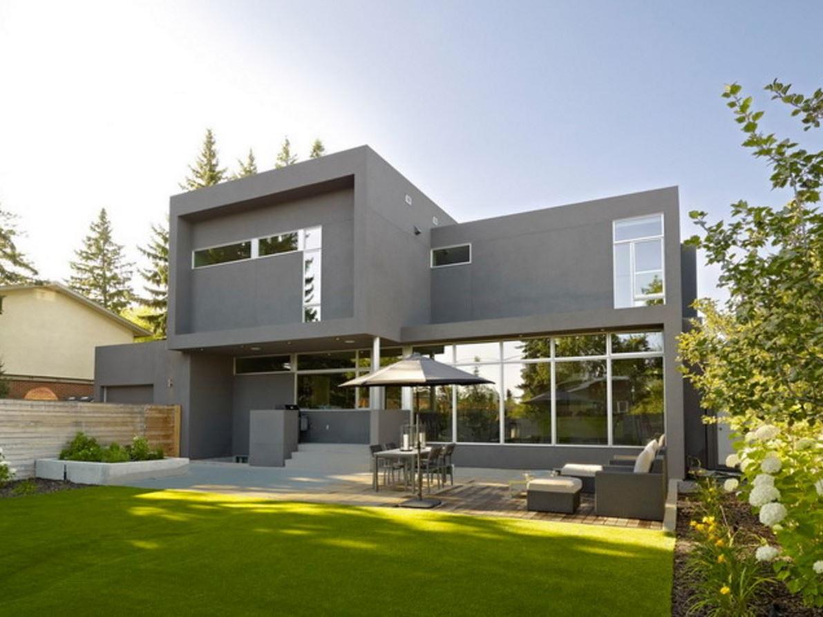 Ver fachadas de casas fachadas de casas estilos de for Casas pintadas de gris