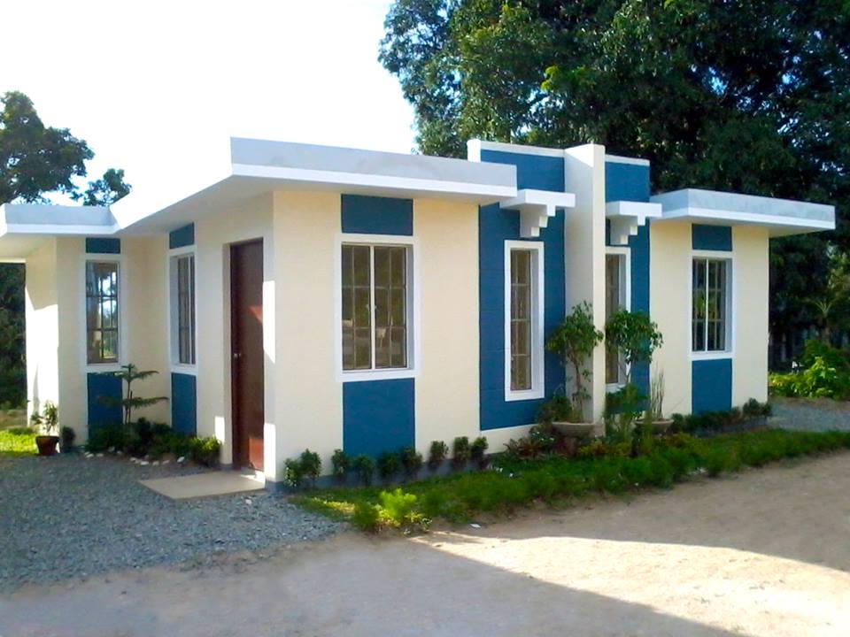 Combinaciones de colores para fachadas que no pasan de moda - Casas de color azul ...