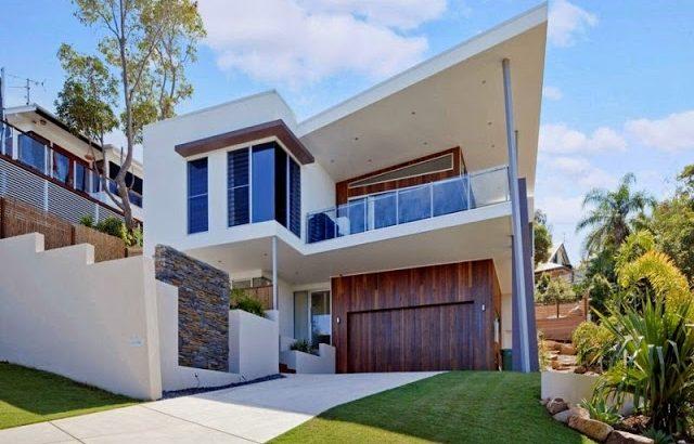 Patios terrazas y balcones - Fachadas para terrazas ...