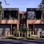 Fachadas de casas tipo dúplex – 5 Sorprendentes diseños