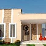 15 Fachadas de casas bonitas de un piso