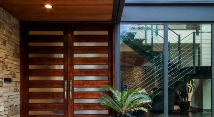 Fachadas de casas for Fachadas de entradas de casas modernas