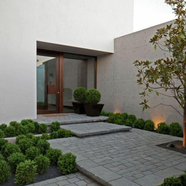 Fachadas de entradas de casas modernas - Entrada de casas modernas ...