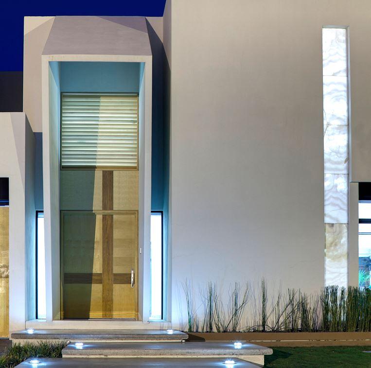 Fachadas de entradas de casas modernas - Entradas para casas ...