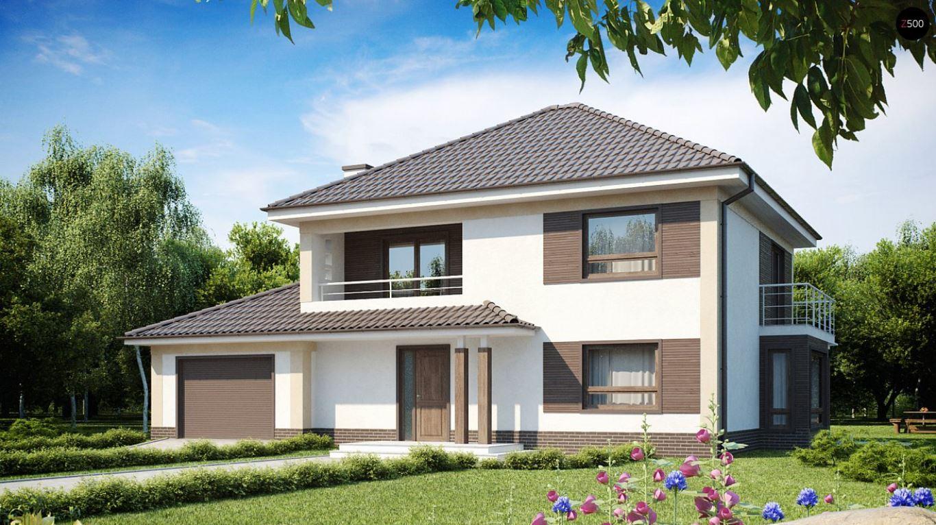 10 dise os de casas con jard n delantero simple y moderno for Casas con jardin pequeno al frente