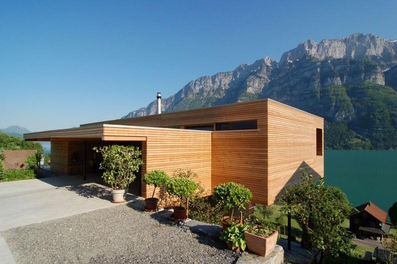 14 casas de madera modernas for Archi in casa moderna