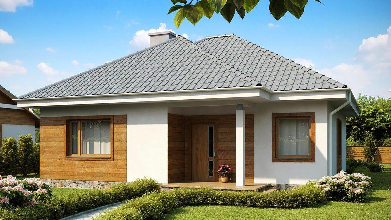 16 fachadas de casas de una planta for Fachadas para casas de una planta