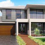 10 Diseños de casas con jardín delantero simple y moderno