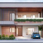 24 Diseños de fachadas de casas dos pisos