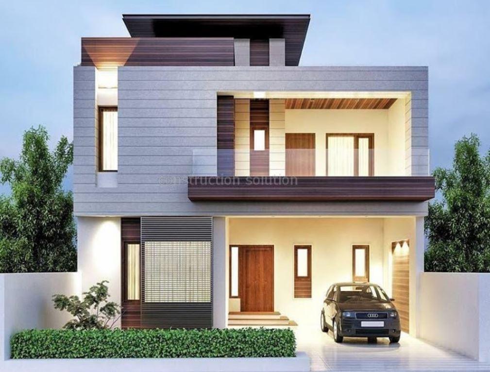 24 dise os de fachadas de casas dos pisos for Fachadas de casas de 2 pisos pequenas