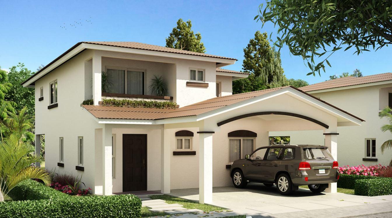 10 fachadas con techos a varias aguas for Fachadas de casas modernas gratis