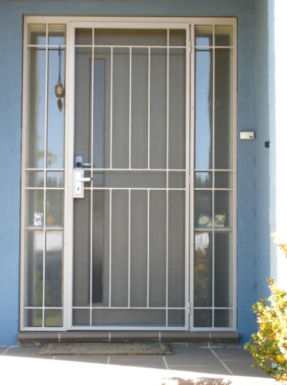 10 Modelos De Rejas Para Puertas De Entrada