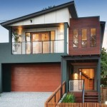 Fachadas de casas modernas con madera