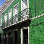 Fachadas de casas con mosaico