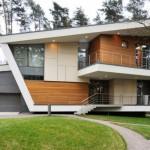 Fachadas de casas elegantes modernas