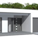 Fachadas de casas simples y bonitas