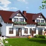 Casa duplex con jardín frontal