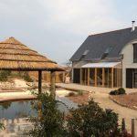 Fachada de casa bioclimatica