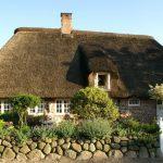 Casas con techos de paja