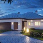 Fachadas de casas con adoquines