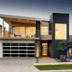 Fachadas modernas de casas de 2 plantas