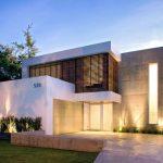 Casa con placa cementicia