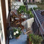Balcones de casas sencillas decorados
