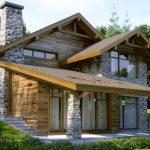 10 Fachadas con techos a varias aguas